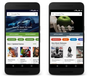 Google's application store is getting a new makeover